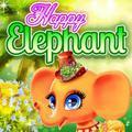 פיל שמח