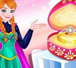 עיצוב טבעת הנישואין של אנה