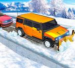 נהג ג'יפים בחריש השלג